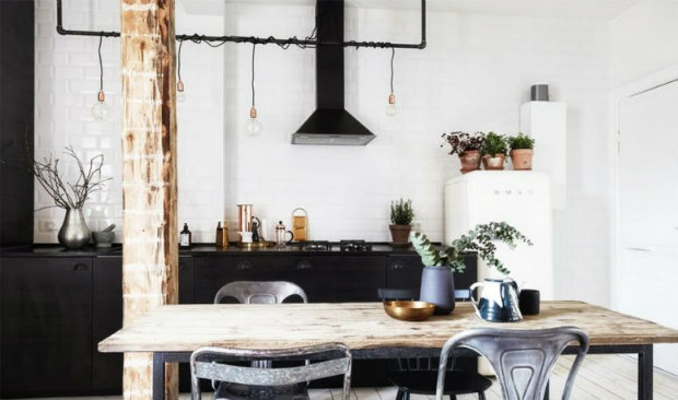 Dazzling New York Industrial Loft with Exposed Brick Walls FEAT industrial loft Dazzling New York-Inspired Industrial Loft with Exposed Brick Walls Dazzling New York Industrial Loft with Exposed Brick Walls FEAT