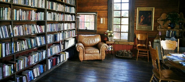 he perfect vintage library for your home-5
