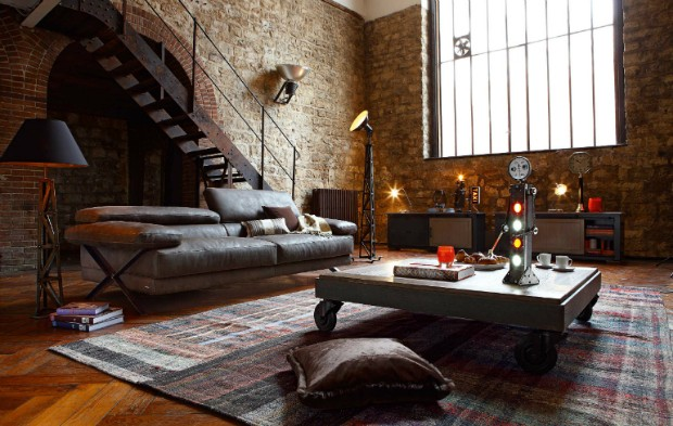 10 Living Room Ideas For Your Industrial Loft industrial loft 10 Living Room Ideas For Your Industrial Loft 10 Living Room Ideas For Your Industrial Loft 8
