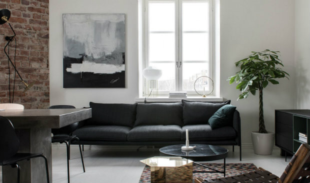 An Industrial Style Apartment in Helsinki by Laura Seppänen 13 industrial style apartment An Industrial Style Apartment in Helsinki by Laura Seppänen An Industrial Style Apartment in Helsinki by Laura Sepp  nen FEAT