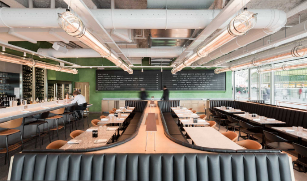 Brasserie Champeaux – Where Vintage and Industrial Design Meet