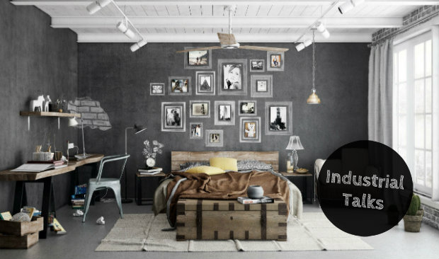 Industrial Talks How to Create an Industrial Bedroom Design FEAT industrial bedroom design Industrial Talks: How to Create an Industrial Bedroom Design Industrial Talks How to Create an Industrial Bedroom Design FEAT
