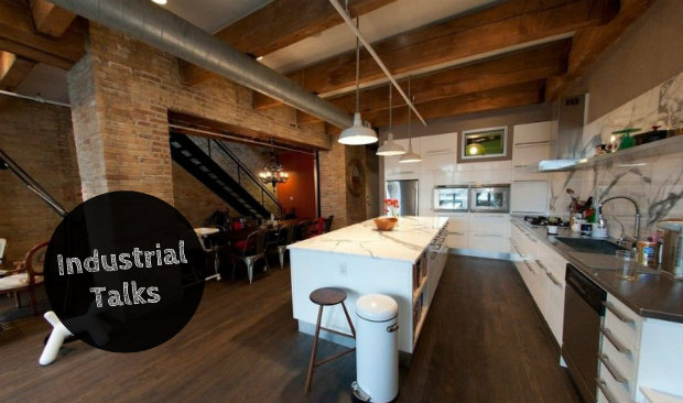 Industrial Talks How to Make an Industrial Loft Feel Like Home FEAT