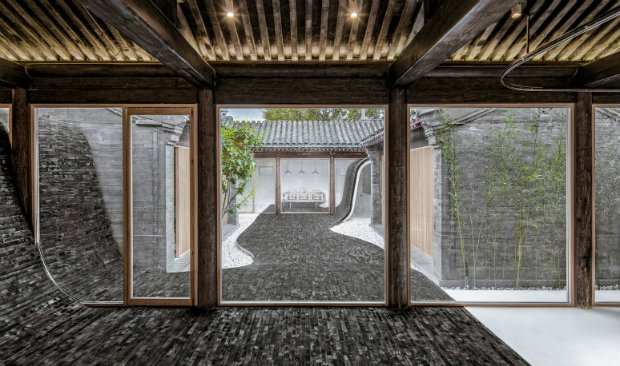 Chinese Architecture Twisting Courtyard with an Industrial Style feat industrial style Chinese Architecture: Twisting Courtyard with an Industrial Style Chinese Architecture Twisting Courtyard with an Industrial Style feat