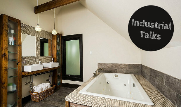 Industrial Talks: How to Create an Industrial Style Bathroom