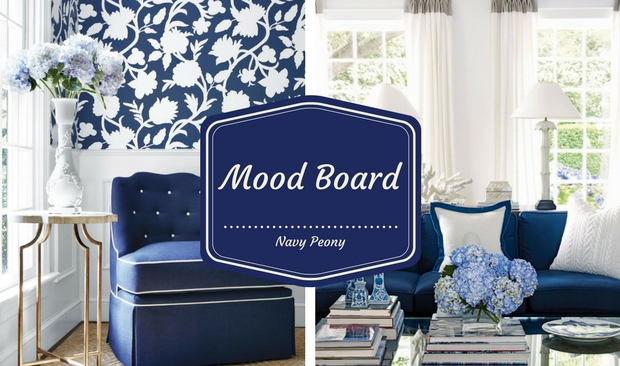 Mood Board: Discover Why You Should Use Navy Peony in Your Fall Decor