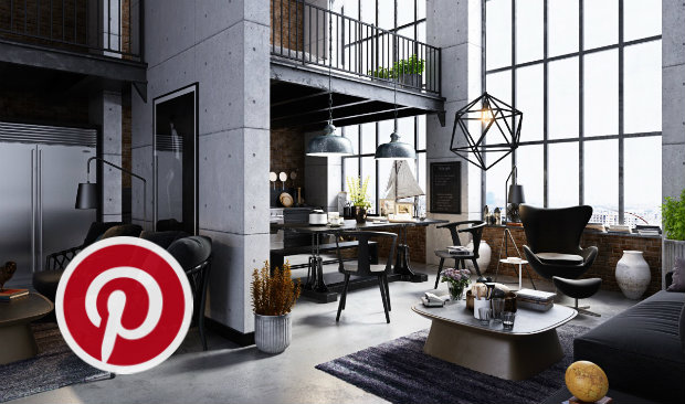 What S Hot On Pinterest Industrial Living Rooms To Inspire You