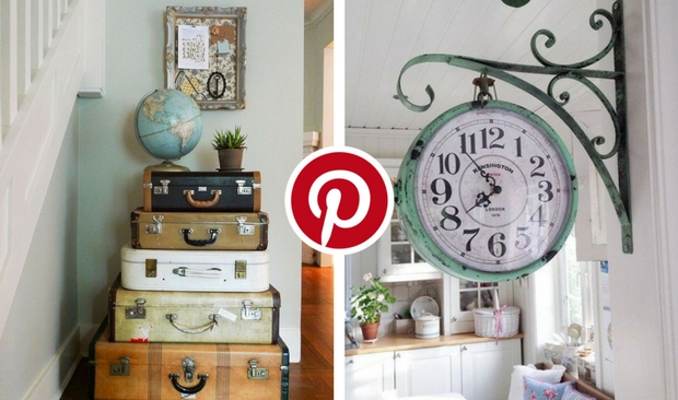 What's Hot on Pinterest 5 Dazzling Vintage Decorating Ideas 2 vintage decorating ideas What's Hot on Pinterest: 5 Dazzling Vintage Decorating Ideas Pinterest