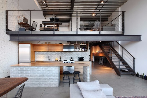 You Need To Know This Industrial Loft in Seatle