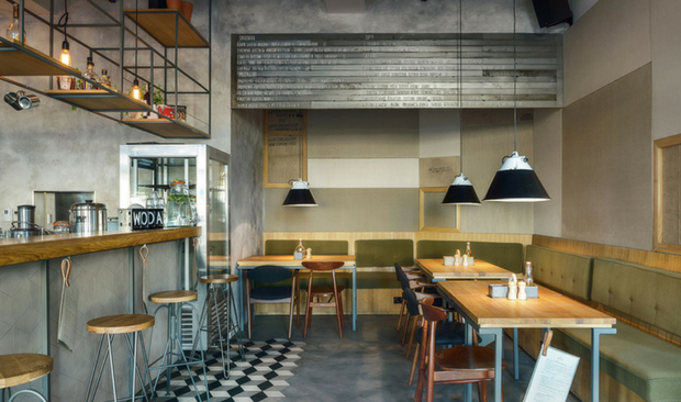 Industrial Design Style: Find Out This Bar & Restaurant in Poland
