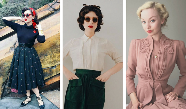 The 7 Vintage Style Fashion Bloggers You Need To Know