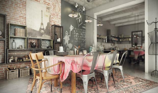 vintage industrial home Dazzling Vintage Industrial Home Inspiration! Dazzling Vintage Industrial Home Inspiration