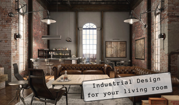 industrial design Get This Industrial Design Look For Your Living Room capa vis