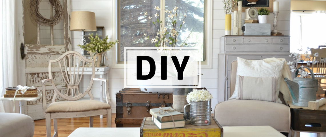 Vintage DIY Ideas Vintage DIY Ideas To Update Your Home Decor capa 3 1140x480
