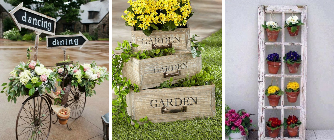 What Is Hot On Pinterest: Vintage Garden Décor