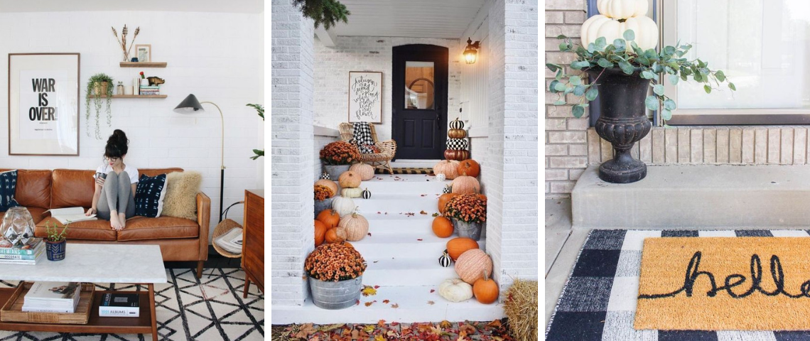 perfect fall décor How To Create The Perfect Fall Décor For Your Home! foto capa vintage  1140x480