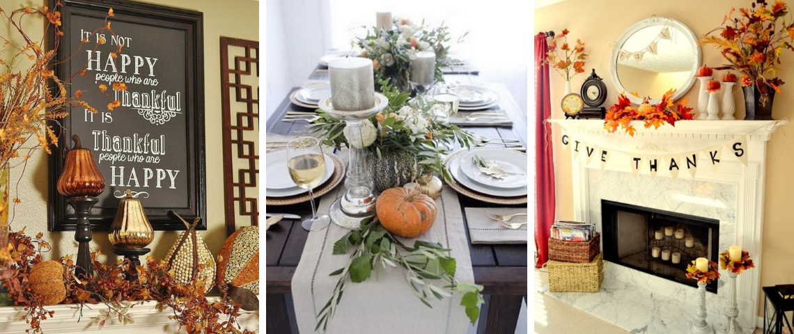 Thanksgiving Décors That Will Fill Your Heart With Joy!