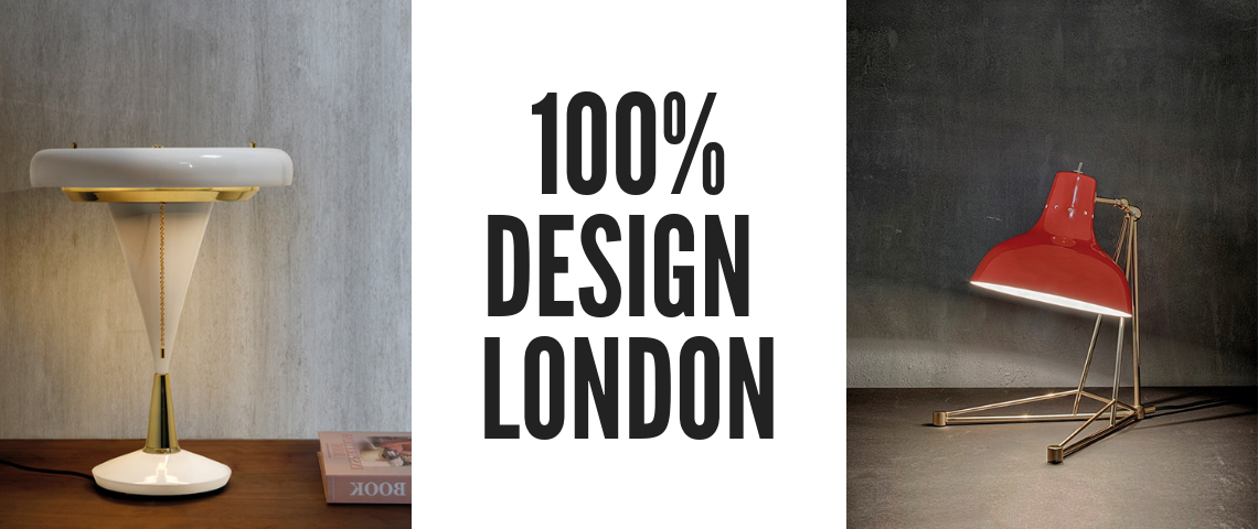 Discover which Mid Century Lamps Are Going To Enlighten 100% Design!