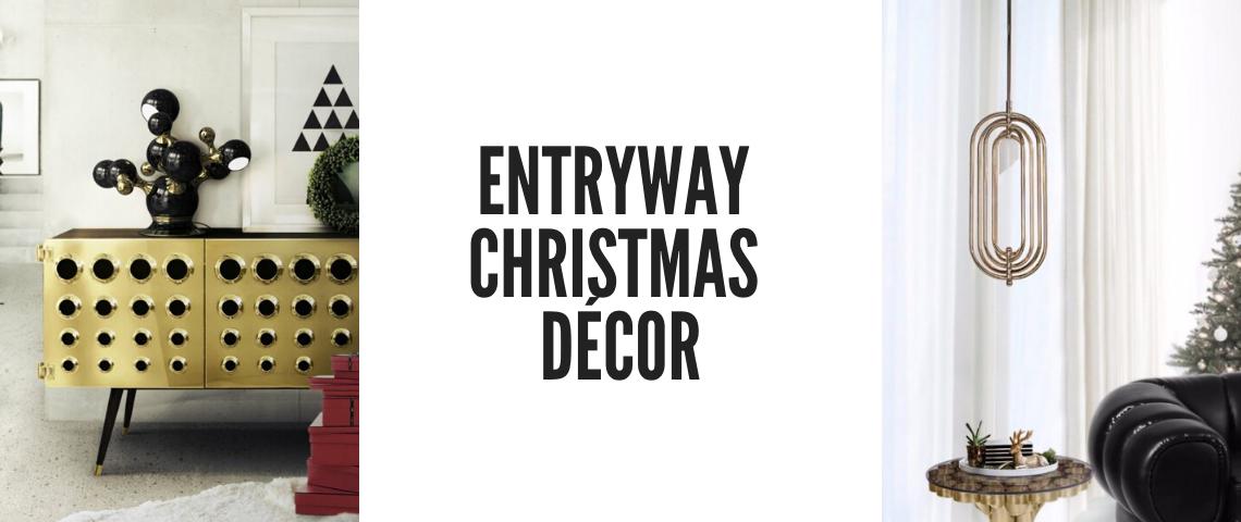 Knock Knock: Open The Door To An Amazing Entryway Christmas Décor!