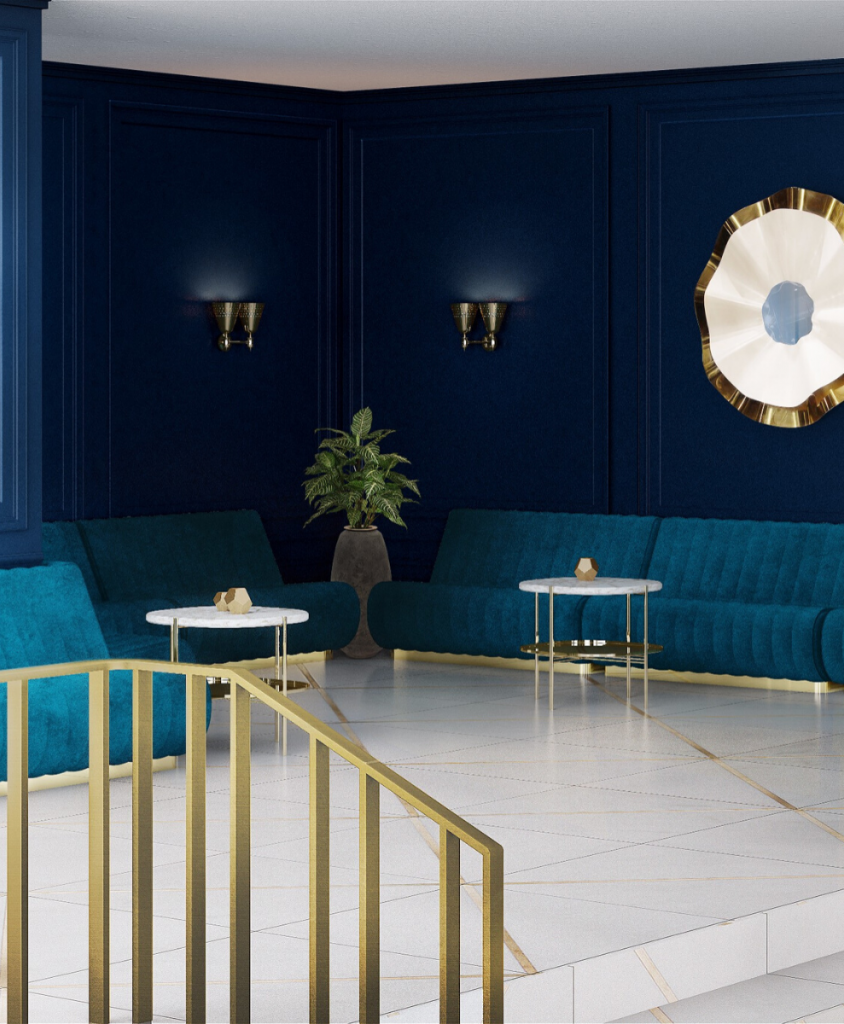 Pantone Color of 2020: Classic Blue Mid Century Ambiances To Inspire You! pantone color Pantone Color of 2020: Classic Blue Mid Century Ambiances To Inspire You! 2
