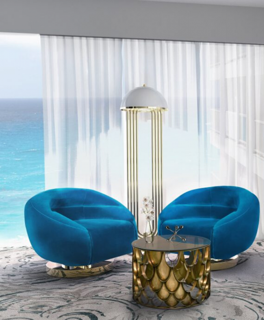 Pantone Color of 2020: Classic Blue Mid Century Ambiances To Inspire You! pantone color Pantone Color of 2020: Classic Blue Mid Century Ambiances To Inspire You! 4