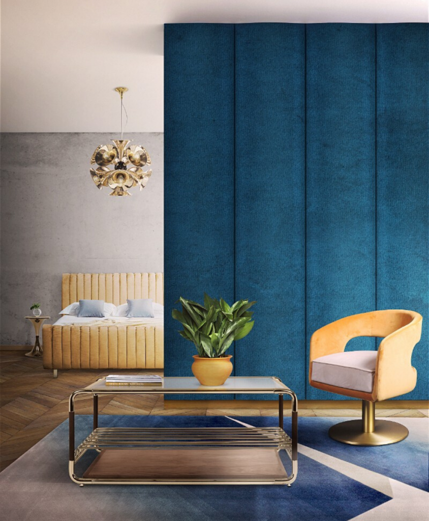 Pantone Color of 2020: Classic Blue Mid Century Ambiances To Inspire You! pantone color Pantone Color of 2020: Classic Blue Mid Century Ambiances To Inspire You! 5