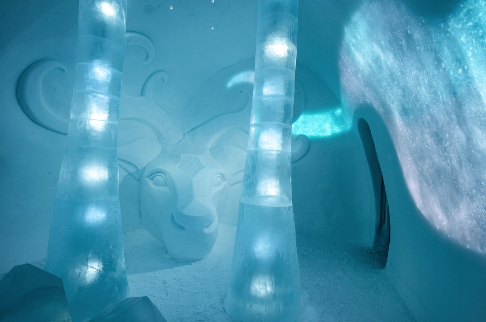 ❄️Check Out This Chilling Design at Sweden's Icehotel! icehotel ❄️Check Out This Chilling Design at Sweden's Icehotel! 9