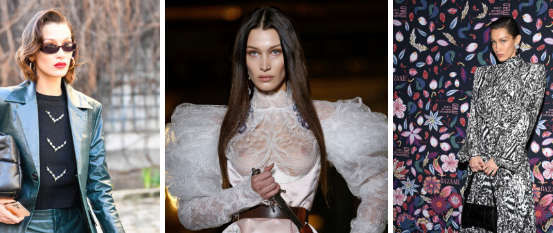 Bella Hadid 's Paris Fashion Week Looks: How It Can Inspire You For A Home Renovation!