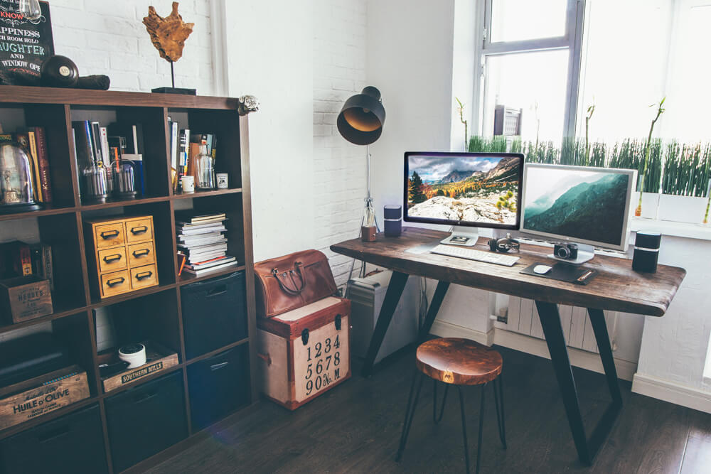 Here Is Where To Shop Vintage Lighting For Small Rooms Of The House 💡 vintage lighting Here Is Where To Shop Vintage Lighting For Small Rooms Of The House 💡 home office