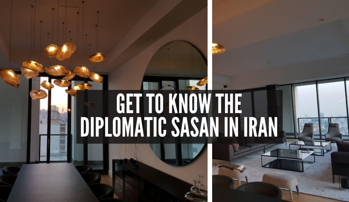 Check Out The Most Incredible Diplomatic Sasan in Iran!