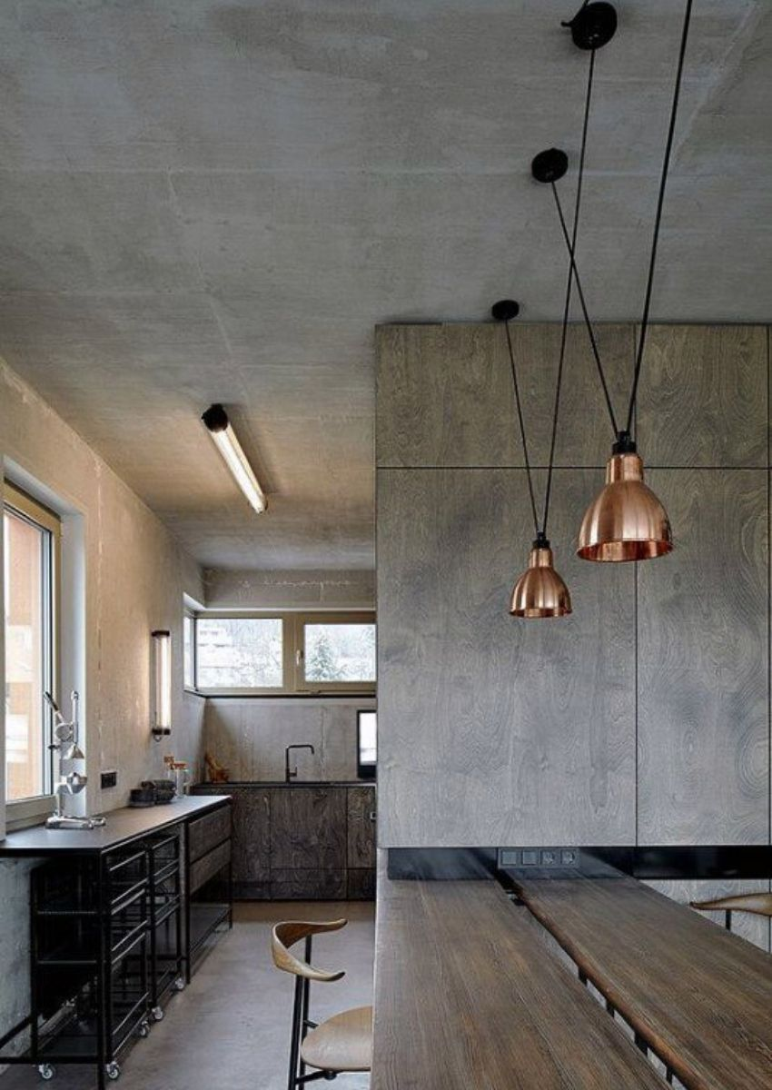 Discover industrial style kitchen islands for all kinds of houses.