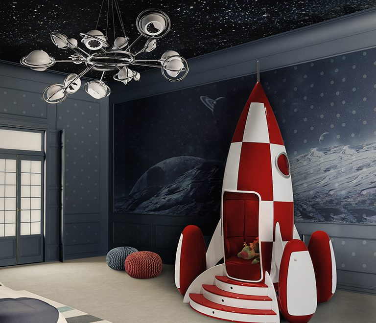 Let's go out of space ... with space-themed decorations 🪐 space-themed decorations Let's Go Out of Space … with Space-Themed Decorations 🪐 cosmo suspension lamp circu magical furniture 4 768x660