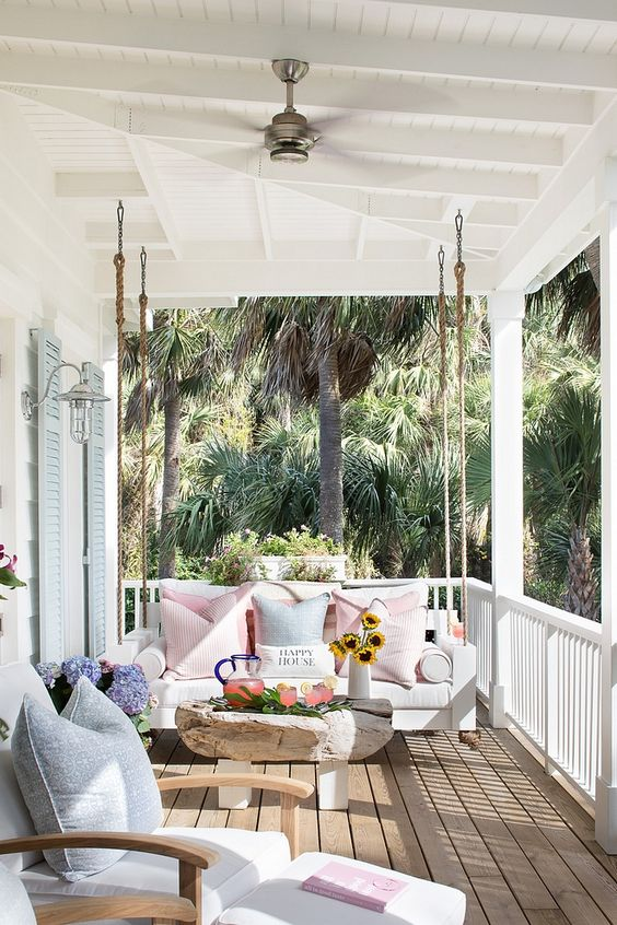 15 Porch Design Ideas That Will Have You Outside All Summer Long ☀️ porch design ideas 15 Porch Design Ideas That Will Have You Outside All Summer Long ☀️ 11 2