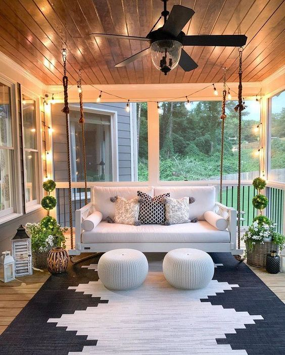 15 Porch Design Ideas That Will Have You Outside All Summer Long ☀️ porch design ideas 15 Porch Design Ideas That Will Have You Outside All Summer Long ☀️ 12 2