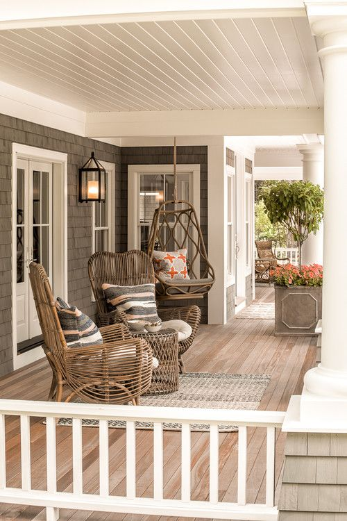 15 Porch Design Ideas That Will Have You Outside All Summer Long ☀️ porch design ideas 15 Porch Design Ideas That Will Have You Outside All Summer Long ☀️ 13 2
