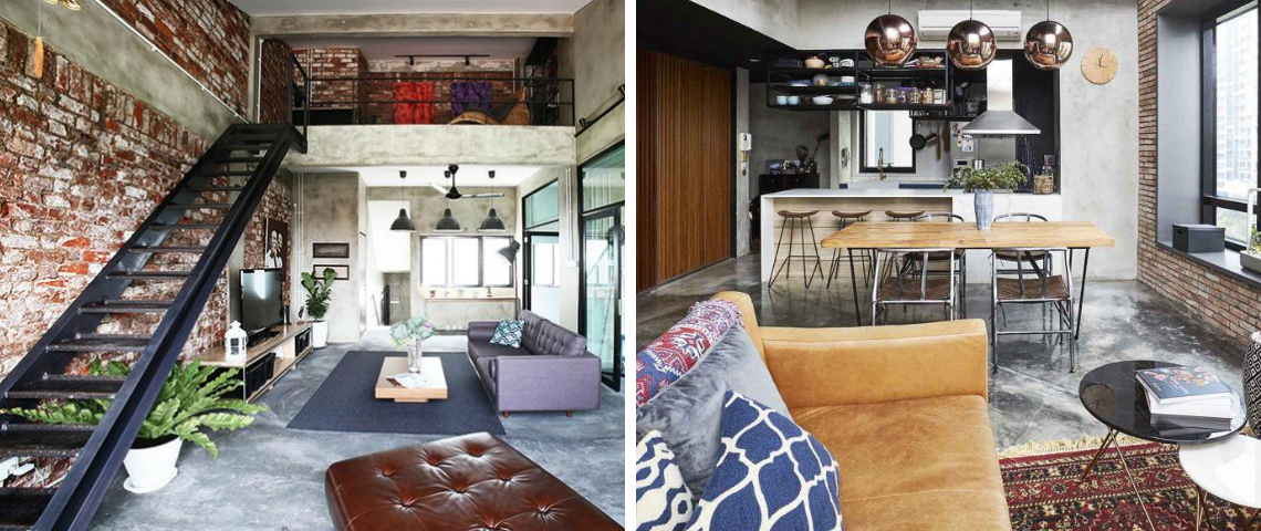 These Sunny Vintage Industrial Style Lofts Will Make You Happier During Summer!