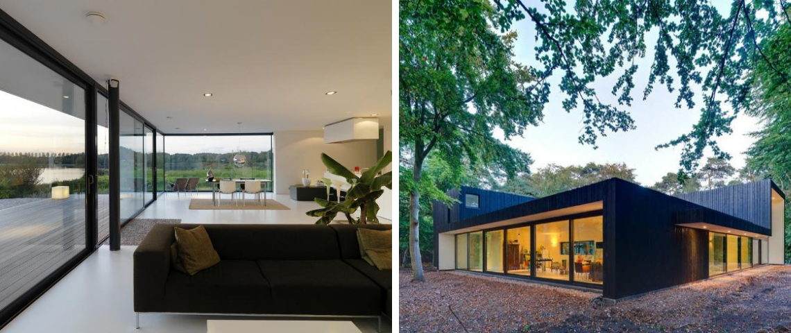 How Grosfeld van der Velde is Rocking Contemporary Design With These Windowed Wall Architectural Projects!