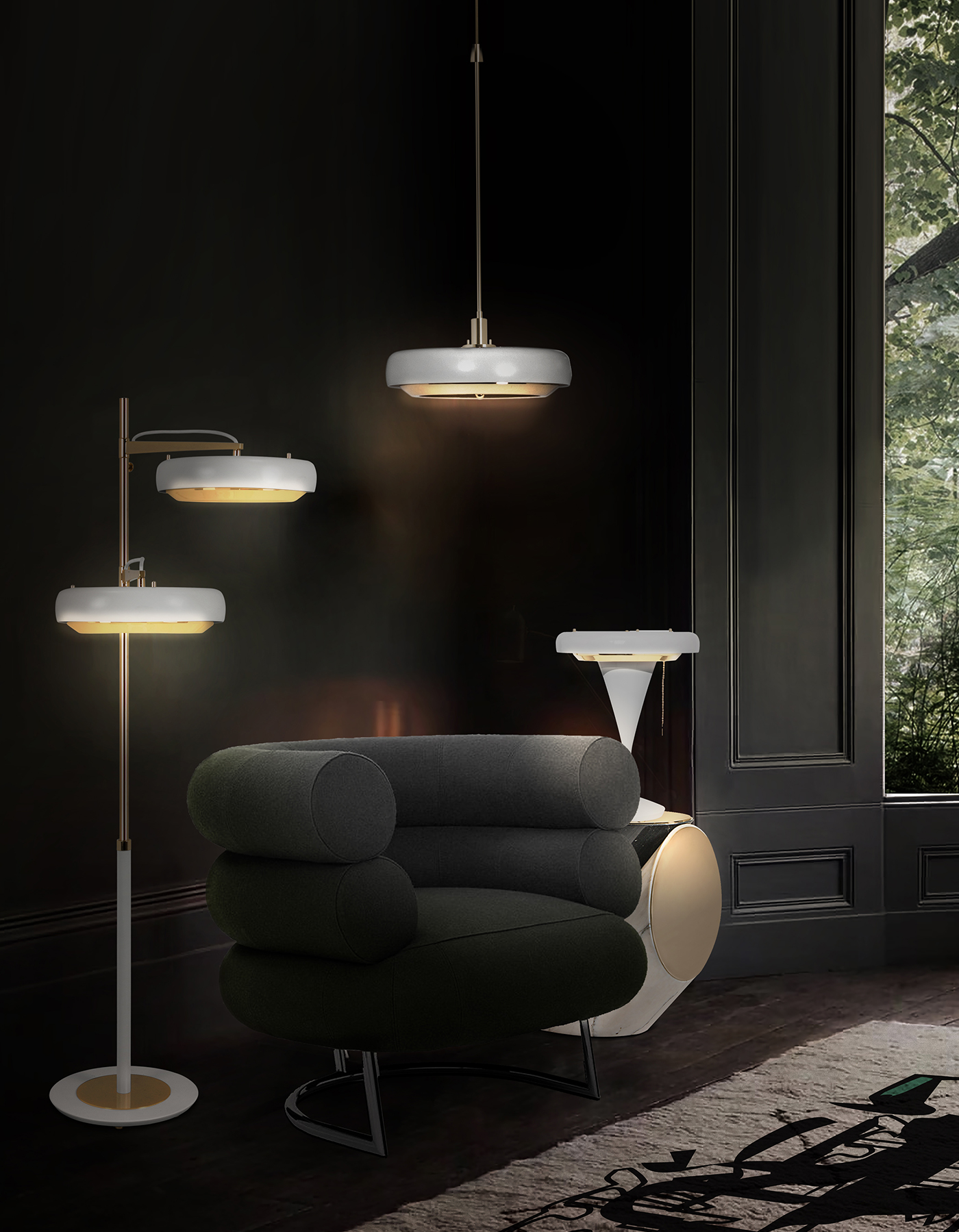 EXCLUSIVE: The New Mid Century Pendant Lamp Everyone Will Talk About! pendant lamp EXCLUSIVE: The New Mid Century Pendant Lamp Everyone Will Talk About! ambiente dl carter pendant