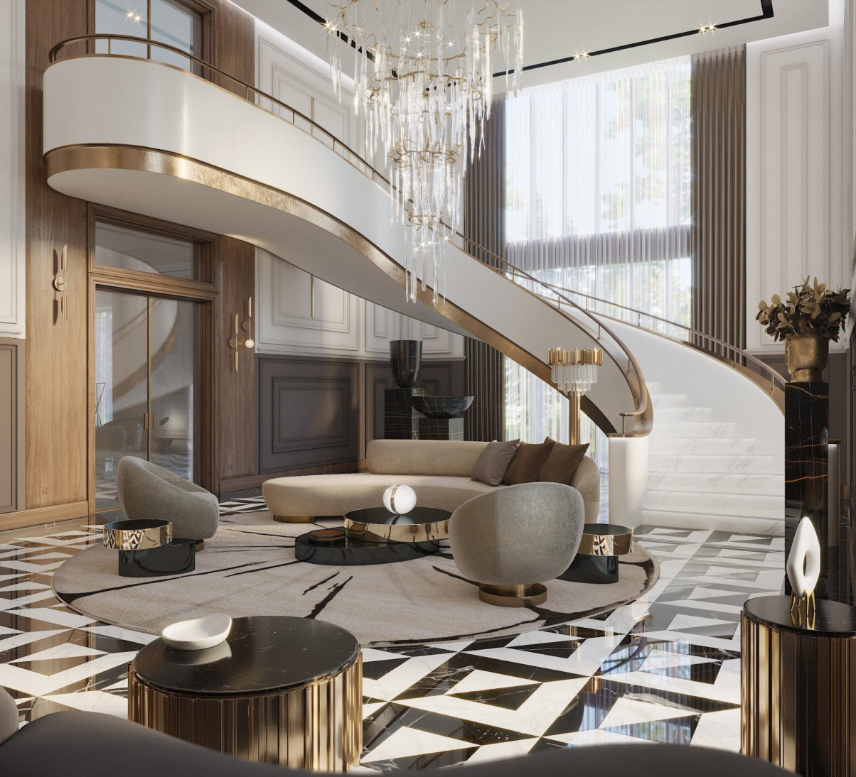 Check Out This Jaw Dropping All-Neutral Residential Project By City Architecture & Design! city architecture Check Out This Jaw Dropping All-Neutral Residential Project By City Architecture & Design! 5 7