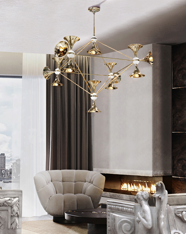These Modern Chandeliers Really Shine (Even When The Switch is Off) chandeliers These Modern Chandeliers Really Shine (Even When The Switch is Off) 1