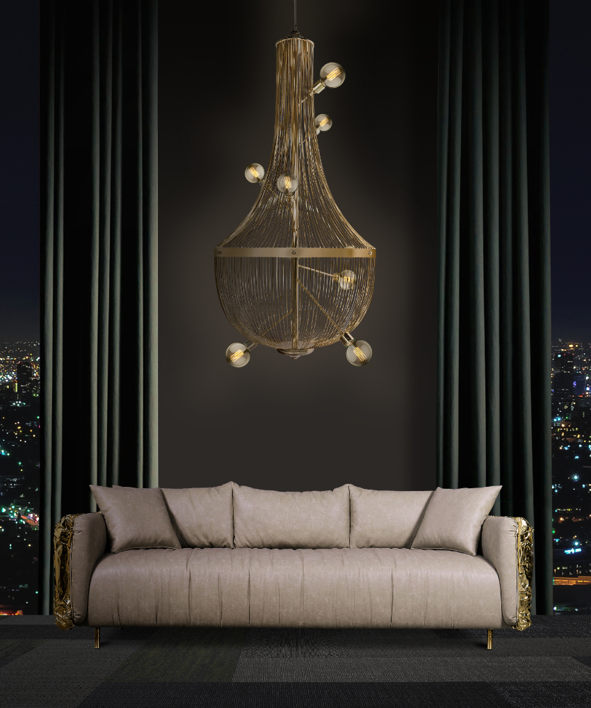 These Modern Chandeliers Really Shine (Even When The Switch is Off) chandeliers These Modern Chandeliers Really Shine (Even When The Switch is Off) 12