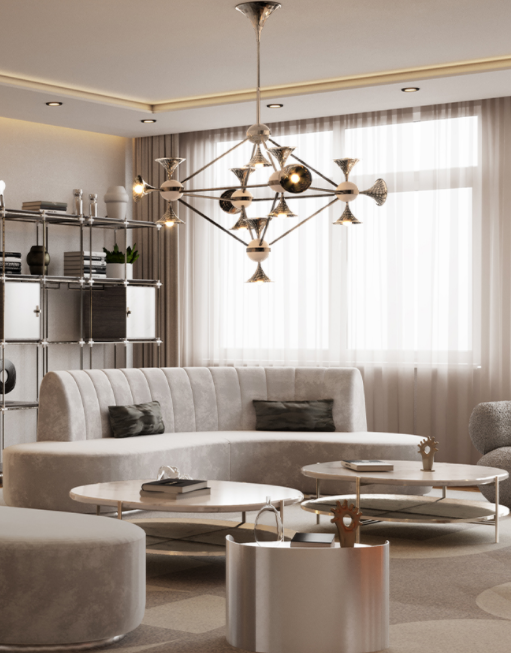 Ceiling Light Fixtures That'll Elevate Your Dinner Parties ceiling Ceiling Light Fixtures That'll Elevate Your Dinner Parties 11