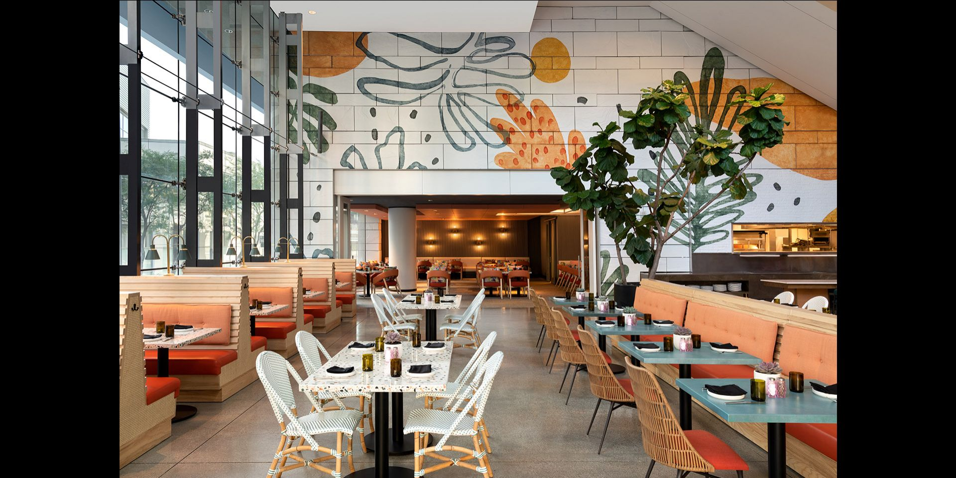 Boho Chic and Modern Design Meet Coexist Beautifully in This Hospitality Project of HBA